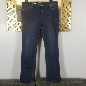Kut from the Kloth dark wash boyfriend jeans 14